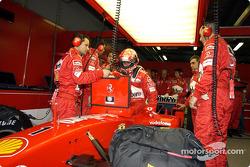 Michael Schumacher se prepara