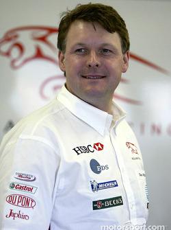 Dave Pitchford de Jaguar Racing