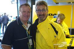 Geoff Polites, Presidente de Ford Australia, con Eddie Jordan