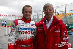 Cristiano da Matta con el Dr Akihiko Saito