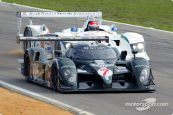 Bentley Speed 8 and Champion Audi R8 at speed
