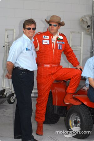 Didier Theys and Eric Van De Poele