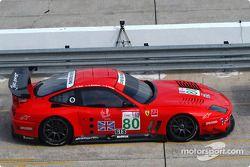 #80 Prodrive Racing Ferrari 550 Maranello: Anthony Davidson, Darren Turner, Kelvin Burt