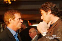 Danny Sullivan and Tony George