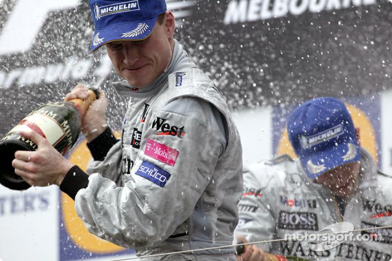 2003: 1. David Coulthard, 2. Juan Pablo Montoya, 3. Kimi Räikkönen
