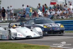 #18 Marshall Cooke Racing Lola B2K/40: Melanie Paterson, Jason Workman, #43 Orbit Racing Porsche 911