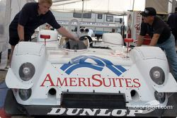 American Spirit Racing garage area