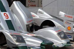 Audi R8 bodywork