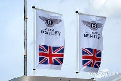 Team Bentley flags