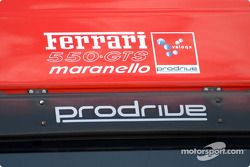 Prodrive Racing Ferrari 550 Maranello