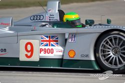 Jonny Kane in the Audi R8 #9 of Team Audi Sport UK