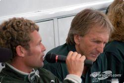 Tom Kristensen and Derek Bell