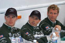 Guy Smith, Rinaldo Capello and Tom Kristensen