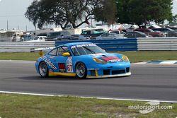 #67 The Racers Group Porsche GT3 RS: Michael Schrom, Pierre Ehret, Vic Rice