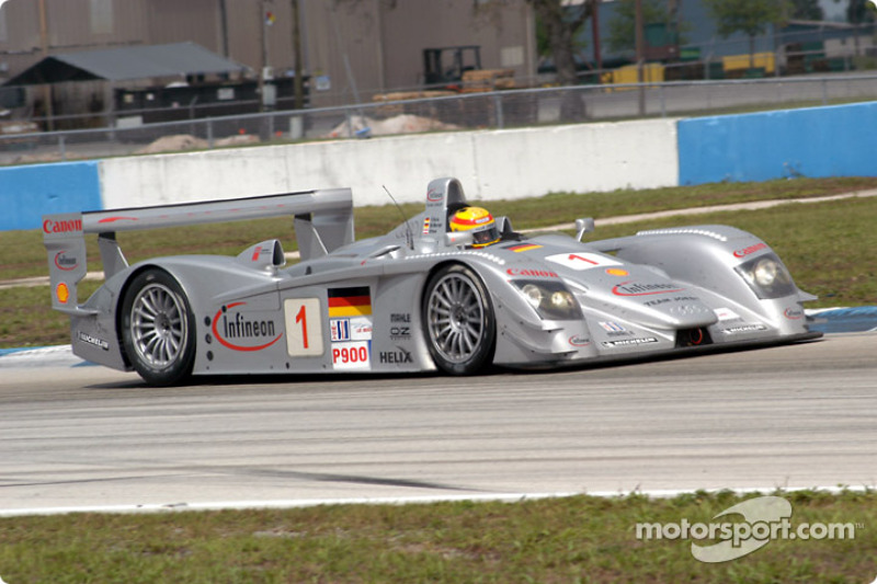 2003: #1 Infineon Team Joest, Audi R8
