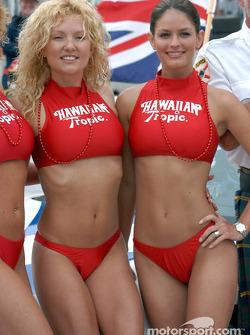 Les Hawaian Tropic Girls, toujours charmantes