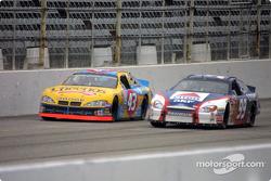 John Andretti y Jeff Burton