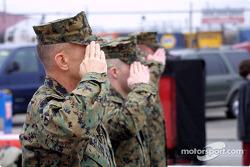 Marines en los pits