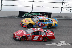 Bill Elliott and John Andretti