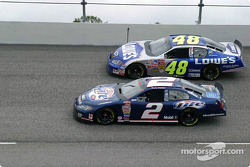 Rusty Wallace et Jimmie Johnson