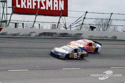 Michael Waltrip y Ricky Craven