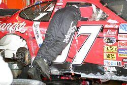 Kurt Busch tras la carrera