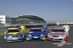 Alain Menu, Karl Wendlinger und Bernd Schneider