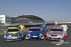 Alain Menu, Karl Wendlinger and Bernd Schneider