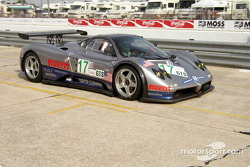 #17 Carsport America Pagani Zonda GR: Mike Hezemans, Anthony Kumpen, Ricardo Gonzalez