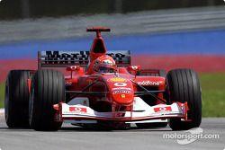 Michael Schumacher, Ferrari F2002B