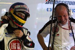Jacques Villeneuve y David Richard