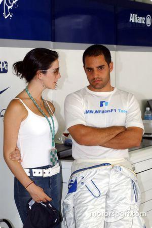 Juan Pablo Montoya ve eşi Connie