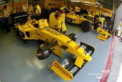 Zona de garage de Jordan
