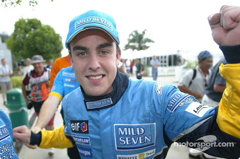 Fernando Alonso (Renault): 21 años, 7 meses y 23 días