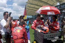 Michael Schumacher gridde
