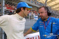 Jarno Trulli et Mike Gascoyne