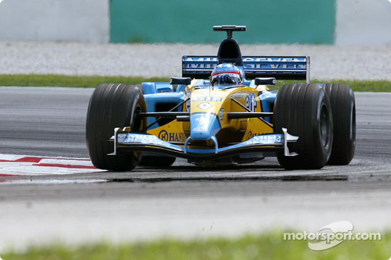 #6: Fernando Alonso - GP da Malásia de 2003 (21 anos e 237 dias)