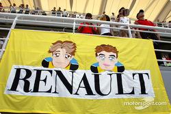 Jarno Trulli and Fernando Alonso fanclub