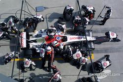 Arrêt pour Jenson Button