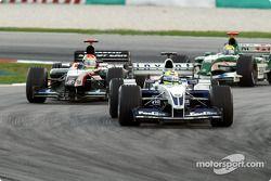 Ralf Schumacher front, Justin Wilson