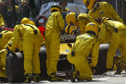 Pitstop for Ralph Firman