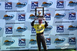 The podium: Mark Taylor