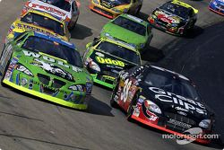David Green and Kasey Kahne lead the field