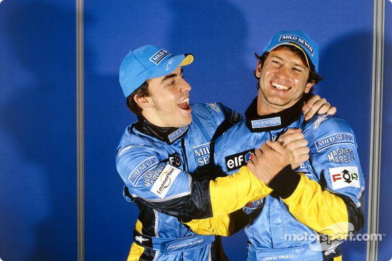 Fernando Alonso: 21 évesen, 237 naposan - Maláj Nagydíj, 2003