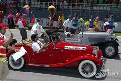 Drivers presentation: Heinz-Harald Frentzen and Nick Heidfeld