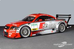 El Abt-Audi TT-R de la línea S del Audi Junior Team