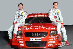 Martin Tomczyk und Peter Terting mit dem Abt-Audi TT-R