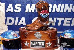 Trofeo de carrera de la Winston