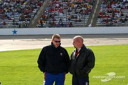 Jeff Burton y Todd Bodine