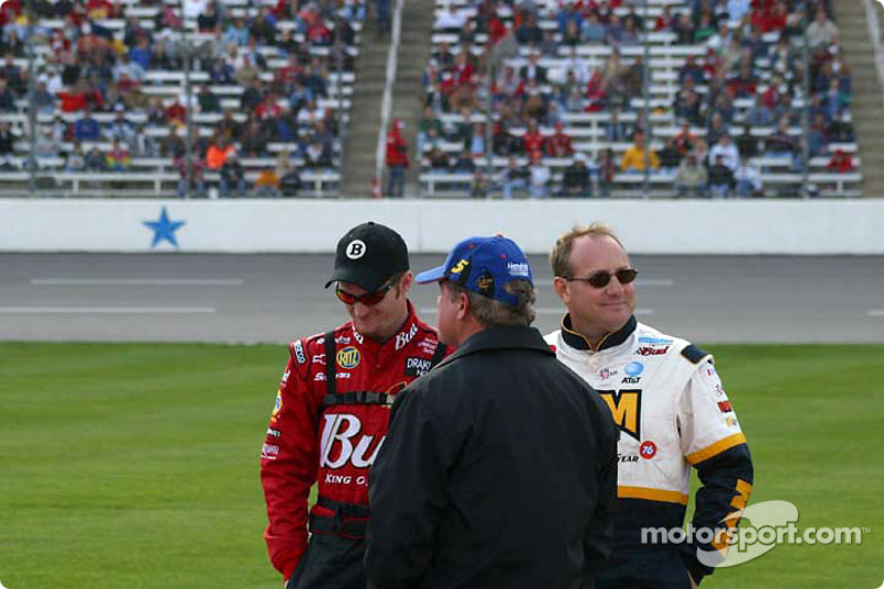 Dale Earnhardt Jr., Terry Labonte y Ken Schrader